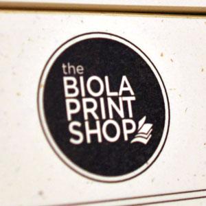 Logo print shop