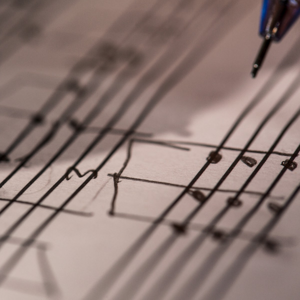 Subject music composition
