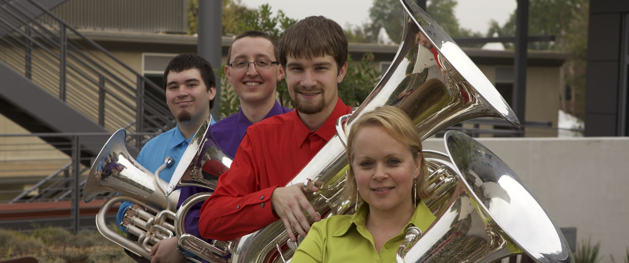 Biola tuba quartet