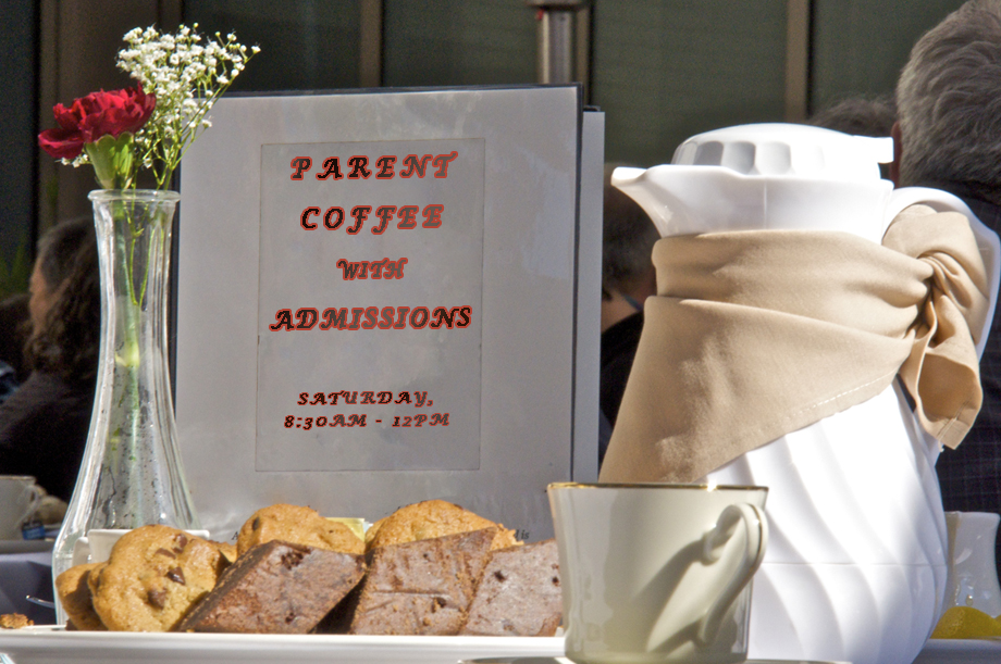 Parent coffee january