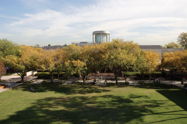 Biola Library viewed from Metzger lawn