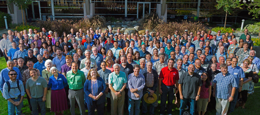 Group photo of Biola Faculty
