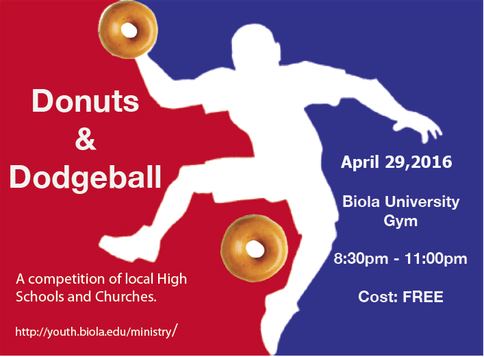 Donuts and Dodge Ball – Biola