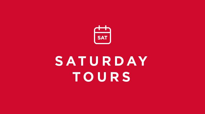 Saturday tours