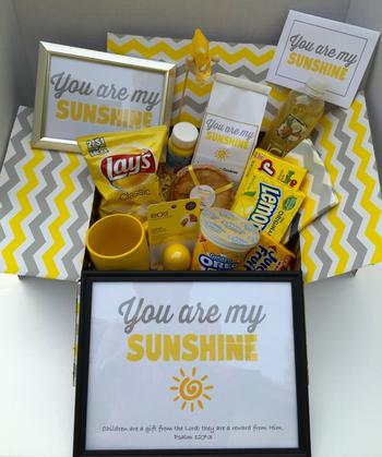 You are my Sunshine Care Package