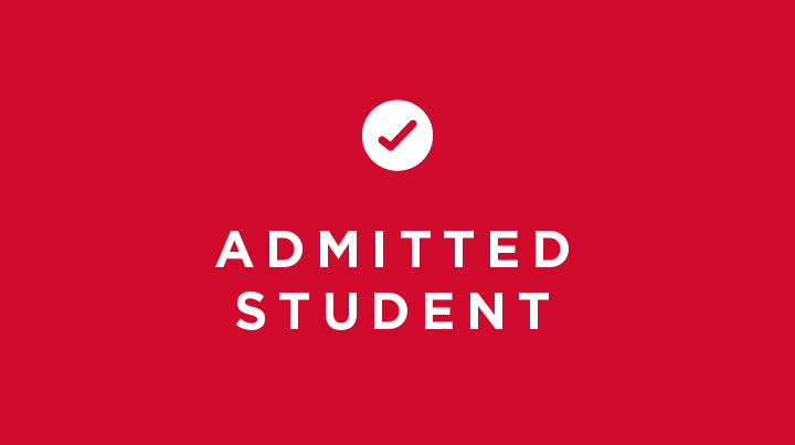 Admitted student