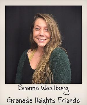 headshot of Brenna