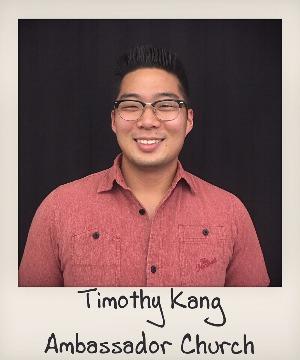 headshot of Timothy