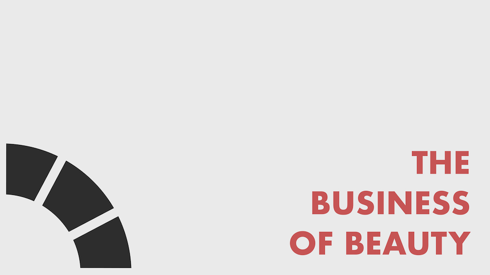 text: Business of Beauty