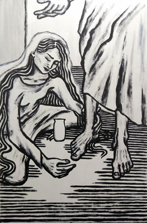 photo of Forgiven Acrylic on Wood