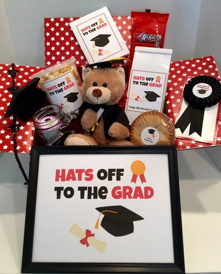 Hats Off to the Grad Care Package