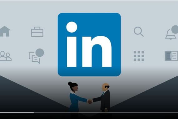 Screenshot of LinkedIn video