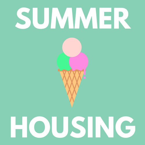 Summer Housing over an ice cream cone