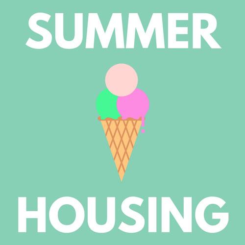Summer Housing over an ice cream cone
