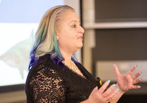 Wendy Billock teaching