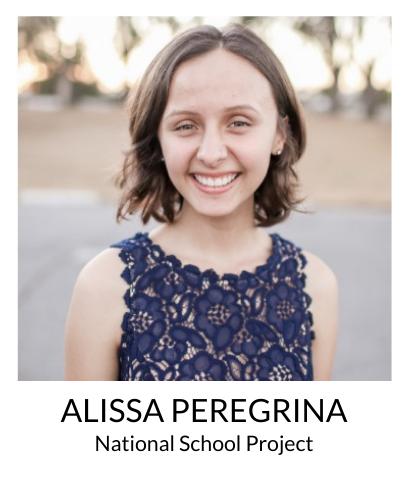 Alissa Peregrina, National School Project