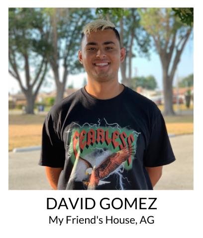 David Gomez, My Friend's House, AG