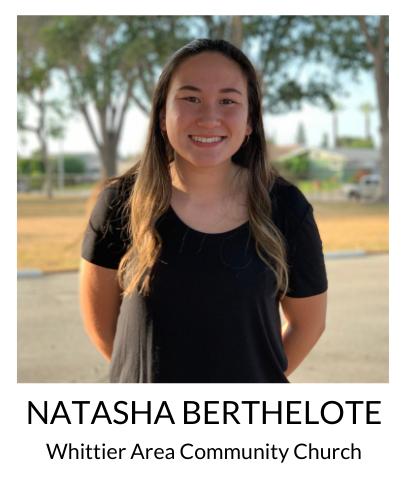 Natasha Berthelote, Whittier Area Community Church