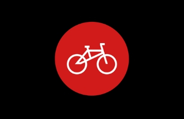 icon of bicycle