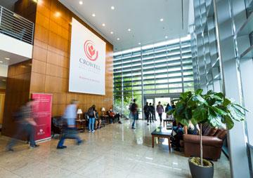 Crowell School of Business interior