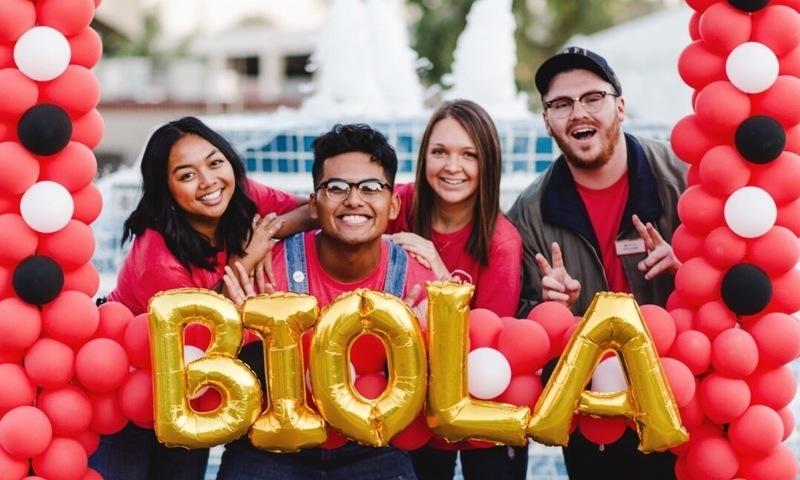 Biola students