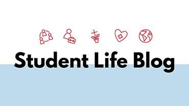 Student Life Blog Banner