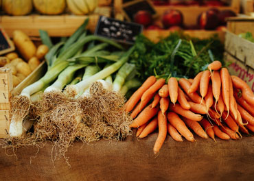 image of leeks and carrots