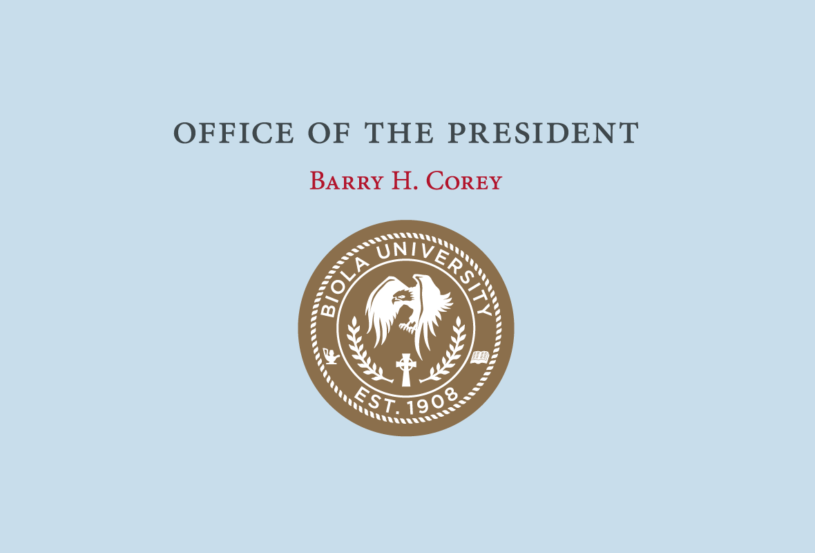 Office of the President: Barry H. Corey