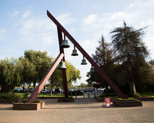 The Biola bell tower on campus