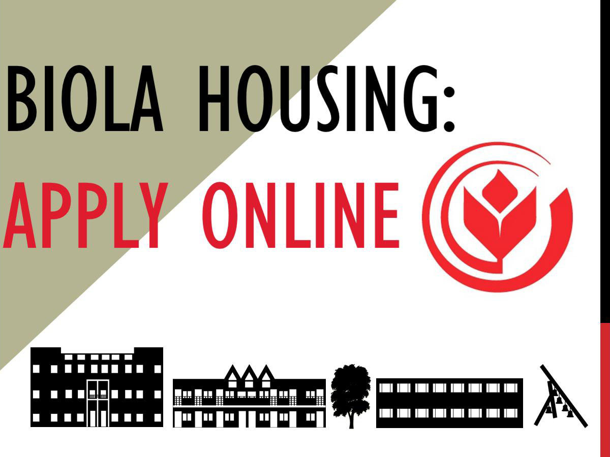 Biola Housing: Apply online