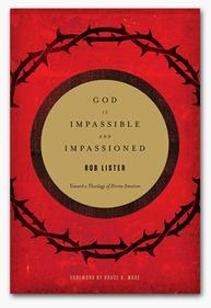 "Book Cover of ""God is Impassible and Impassioned: Toward a Theology of Divine Emotion"""