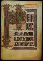 Lindisfarne Gospels Manuscript