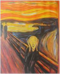 "Edvard Munch's ""The Scream"" Painting"