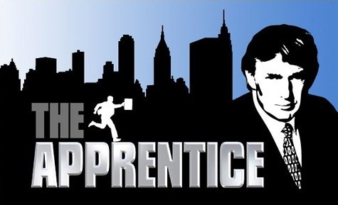 The Apprentice Poster with Donald Trump
