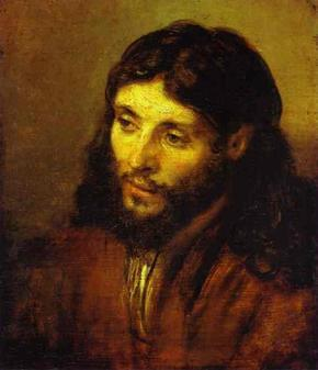 Rembrandt painting of Jesus