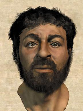 Recent portrait of Jesus put together by archaeologists and forensic anthropologists