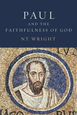 """Book Cover of """"Paul and the Faithfulness of God"""" by N.T. Wright"""