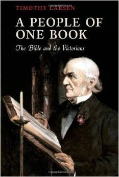 Book Cover of A People of One Book: The Bible and the Victorians by Larsen