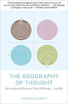 """The Geography of Thought"" Book Cover"