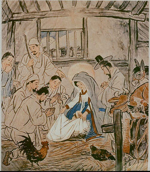 Chinese Nativity Art