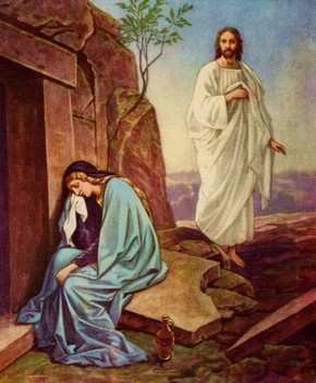 Painting of Jesus appearing to Mary Magdalene after the Resurrection