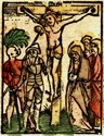 Drawing of Jesus' Crucifixion