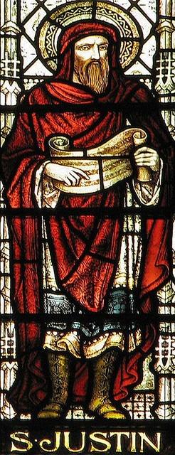 Mosaic of Justin Martyr
