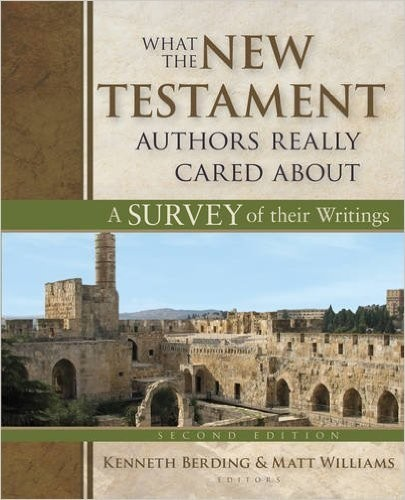 "Book Cover of ""What the New Testament Authors Really Cared About"""