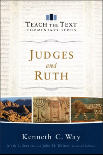 Book Cover of Judges and Ruth by Kenneth Way