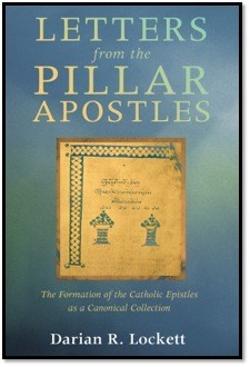 "Book Cover of ""Letters from the Pillar Apostles"" by Lockett"