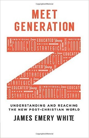 "Book Cover of ""Meet Generation Z"" by James Emery White"