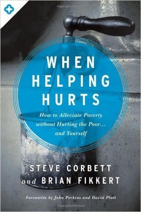 "Book Cover of ""When Helping Hurts"""