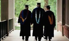 Three university professors