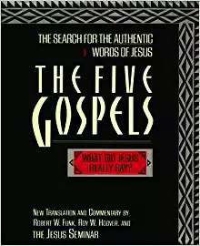 "Cover of ""The Five Gospels"" from the Jesus Seminar"
